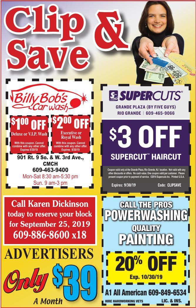 Clip N Save for 08-28-2019