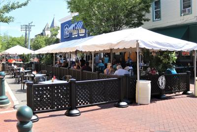 Outdoor Dining in Cape May