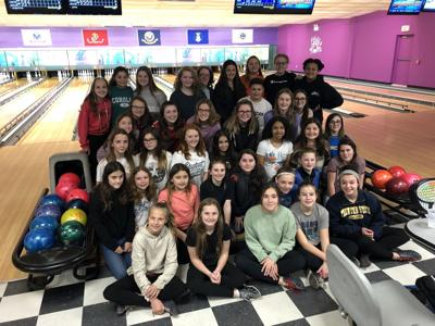 Dennis Township Middle School Clubs Go Bowling