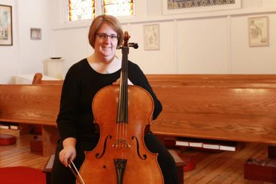 Local Cellist Named MAC's Volunteer of the Month