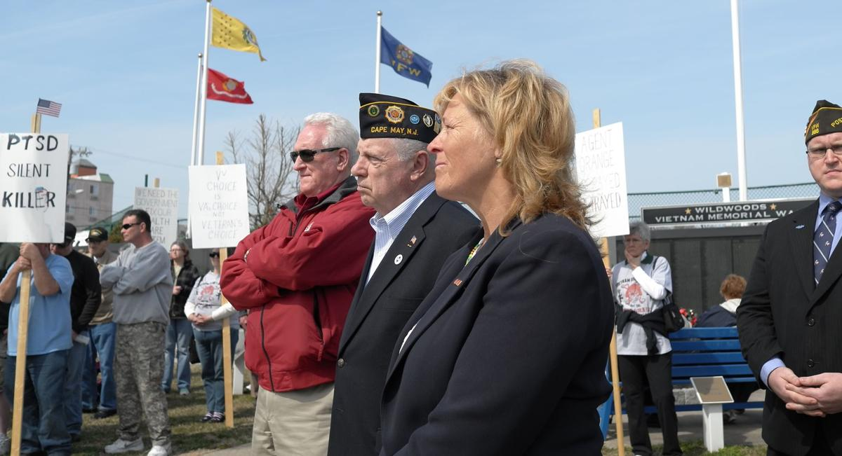 Vets Rally for Use of Area Health Facilities; Cite Agent Orange that Affects Many