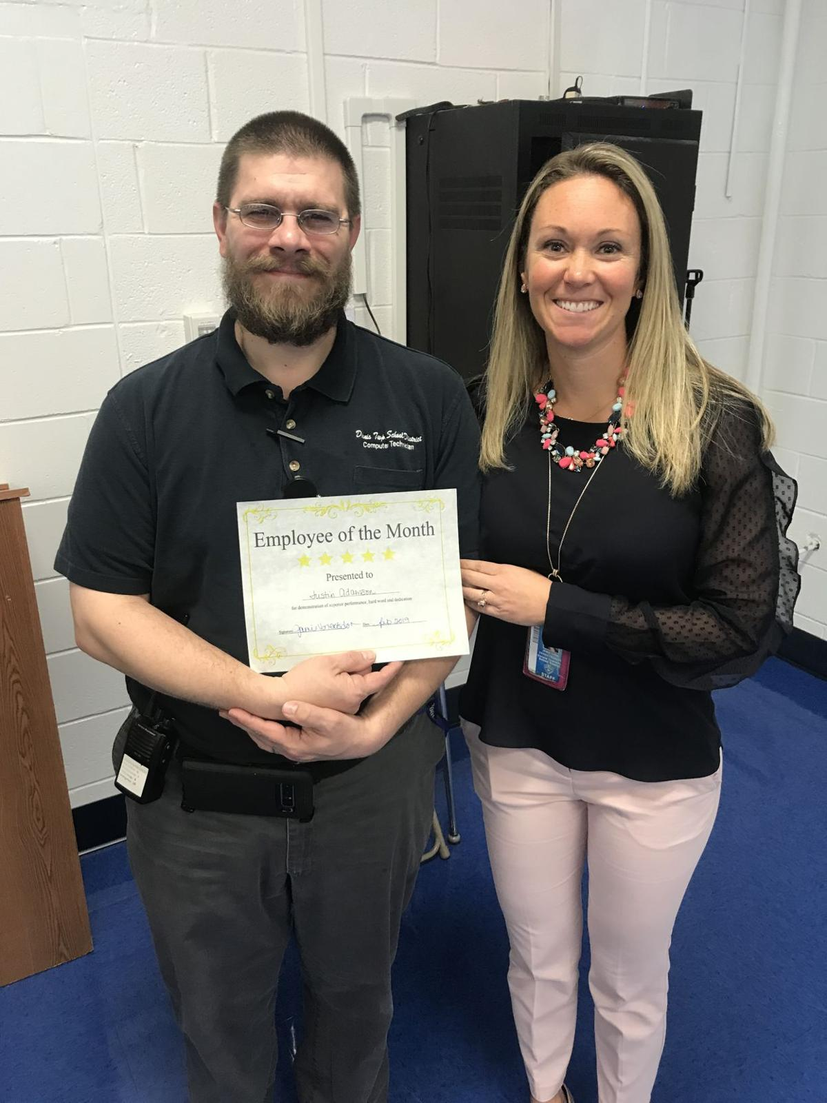 Dennis Township Elementary, Middle School Recognizes Honest Students