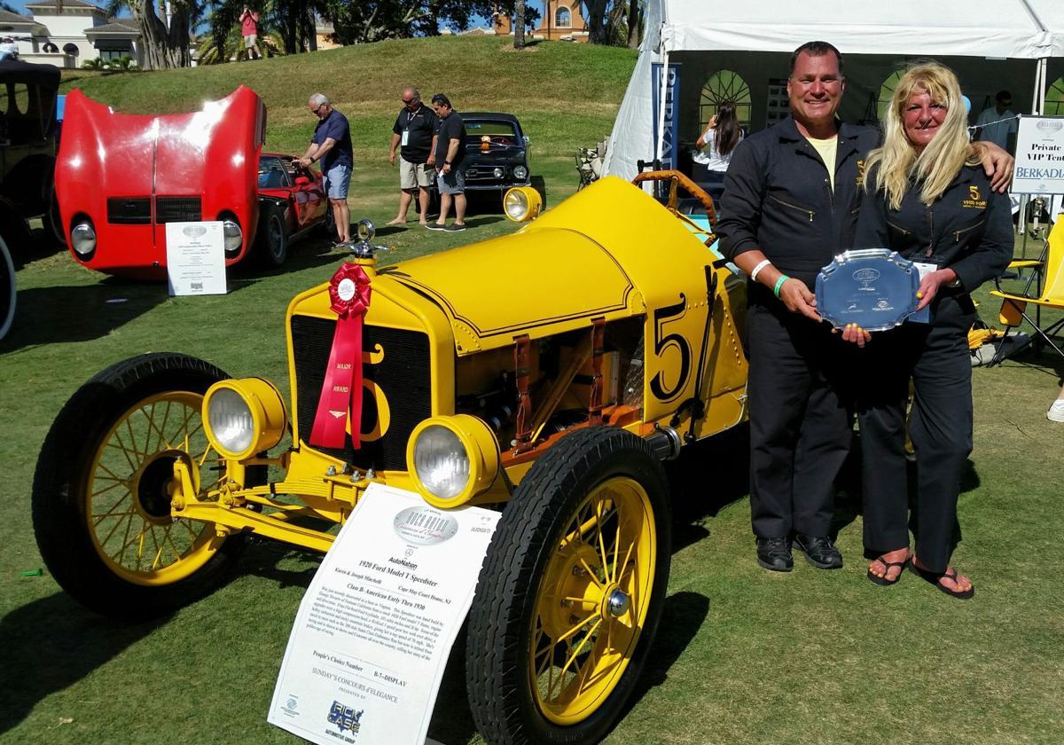 Minchelli No Race Car Wins Award At Boca Raton Concours D - Boca raton car show