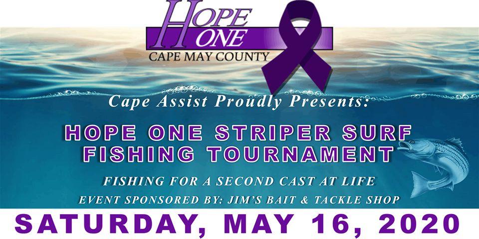 Hope One Striper Surf Fishing Tournament
