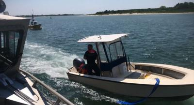 WATCH: Coast Guard, Good Samaritan Rescue 4 From Vessel Near Cape May