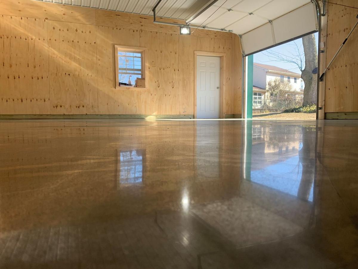 Polished Concrete Over Carpet Or Tile