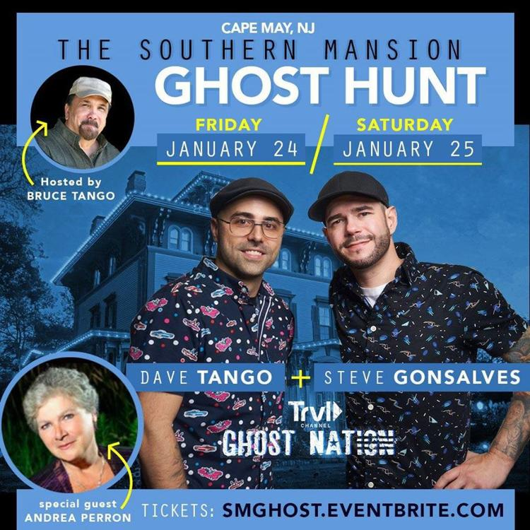 Southern Mansion Ghost Hunt Event