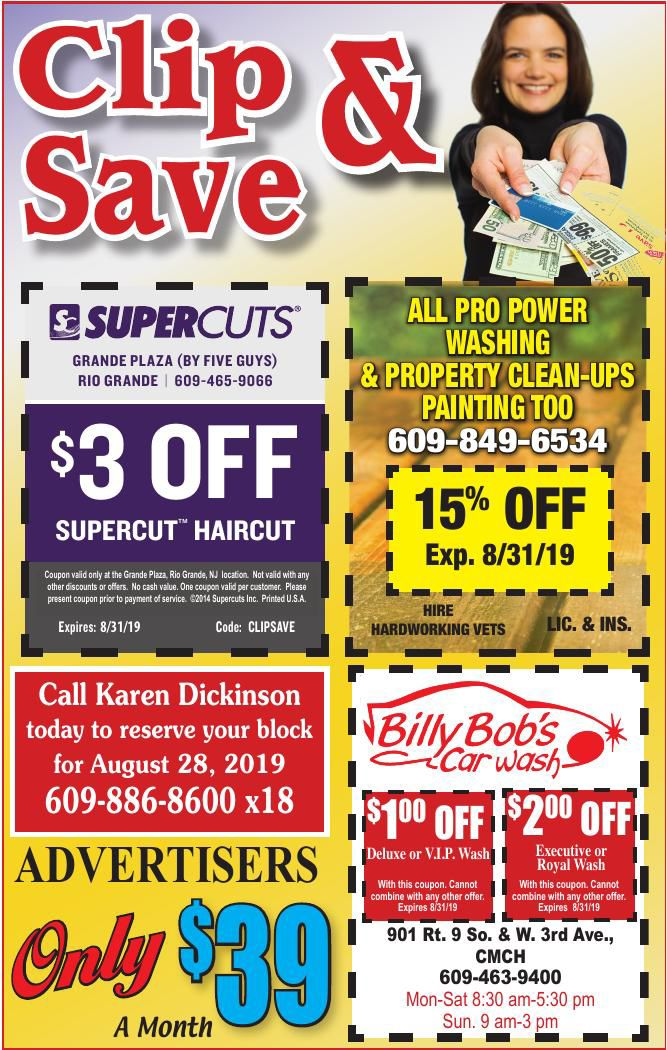 Clip N Save for 07-31-2019