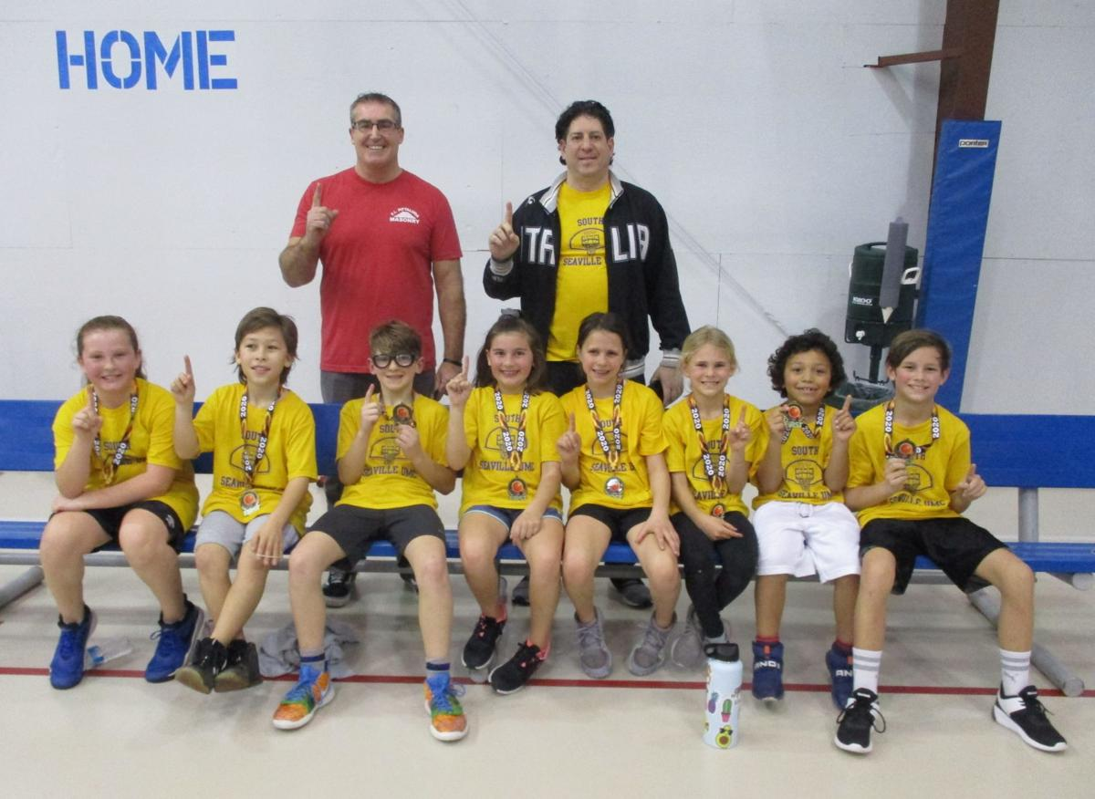 Dennis Township Youth Winter Basketball Lists Champions