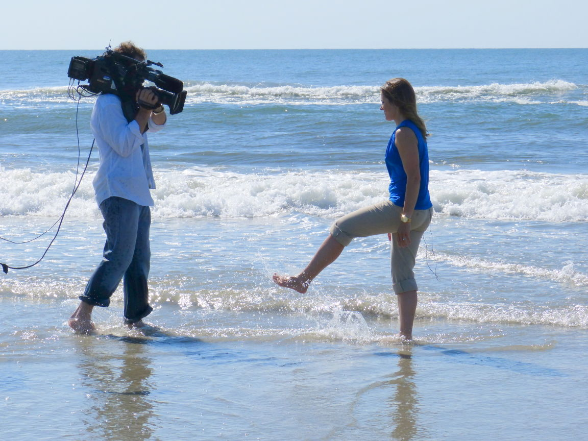 weather channel broadcasts from wildwood dog beach news