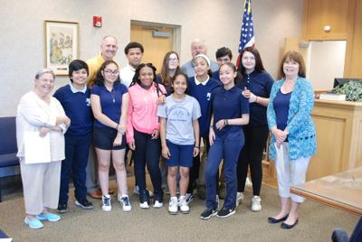 Woodbine Eighth Graders Visit Municipal Building, Learn Civics Lesson