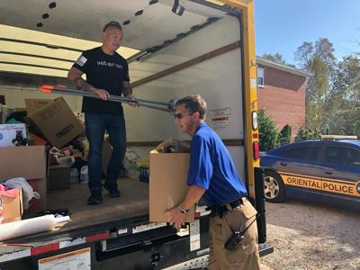 Court House Man Collects Items for Michael Victims
