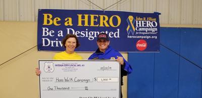 Ocean City PBA Contributes to HERO Campaign's Initiative