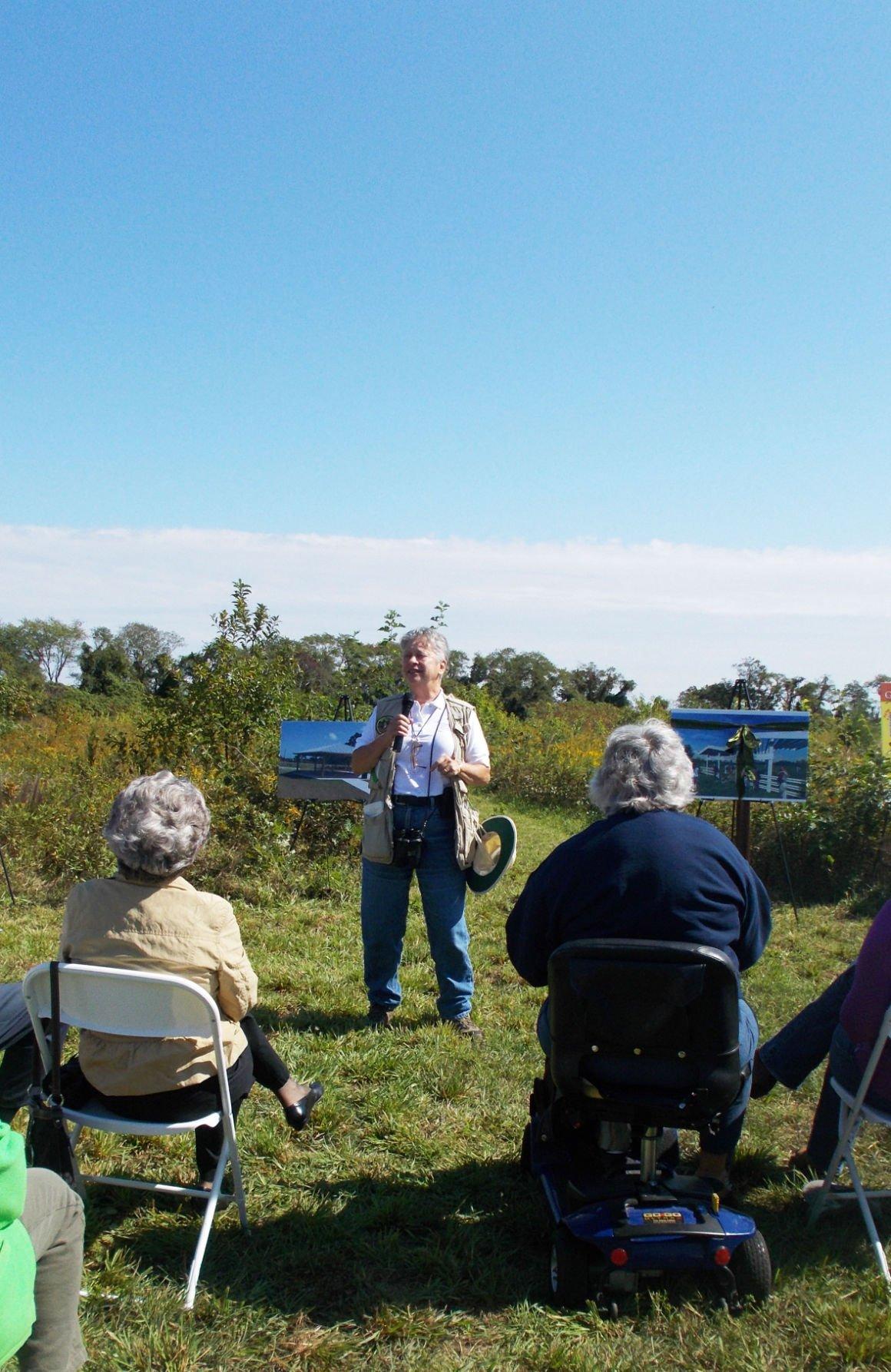 Cape Island Creek Preserve Honors Garrett Family