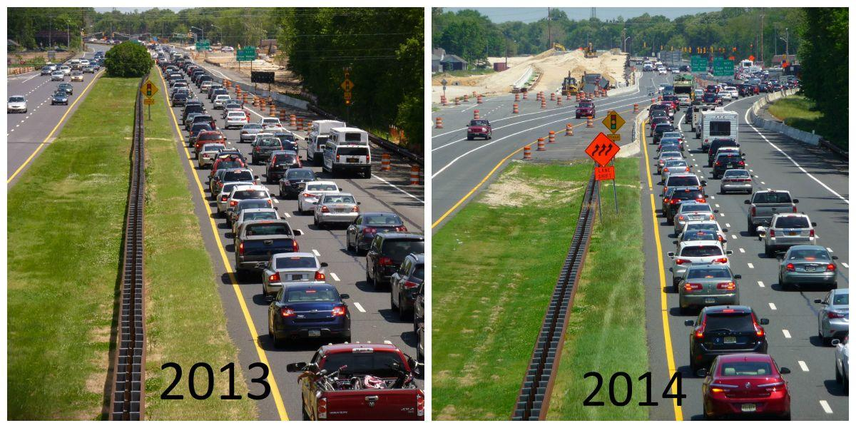 Then and Now: Memorial Day Traffic on Garden State Parkway | News ...