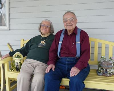 "Marion and Alexander ""Al"" Mouklas in 2012 file photo."