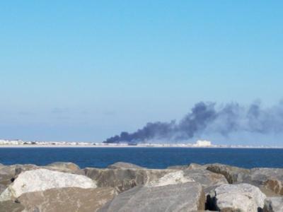 Firefighters Battle Sea Isle City Fire