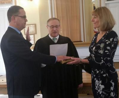 Sutherland Sworn as County Prosecutor