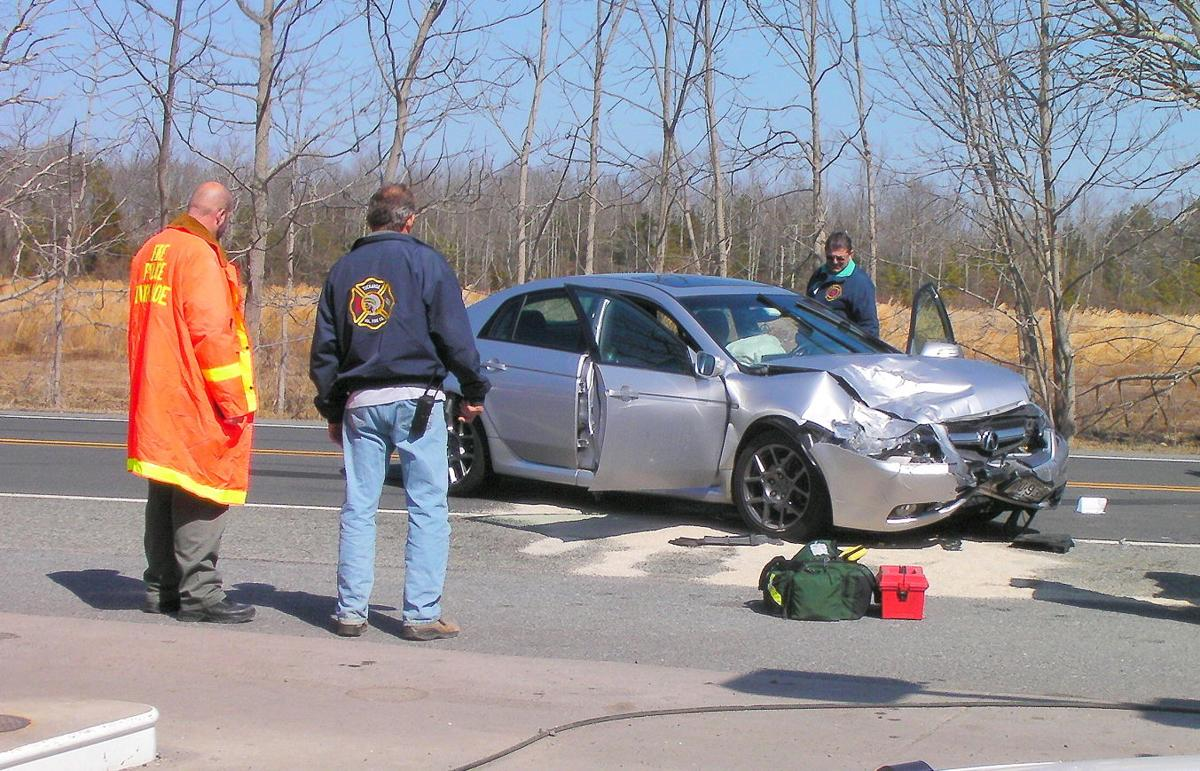 Two Injured, One Airlifted in Route 50 Crash | Accidents
