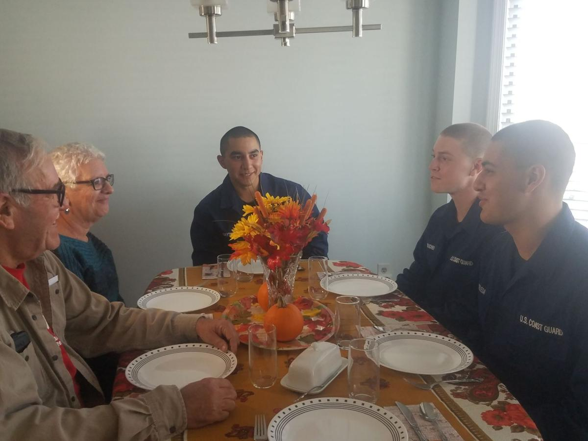 Operation Fireside Continues to Link Host Families, Coast Guard Recruits for Thanksgiving
