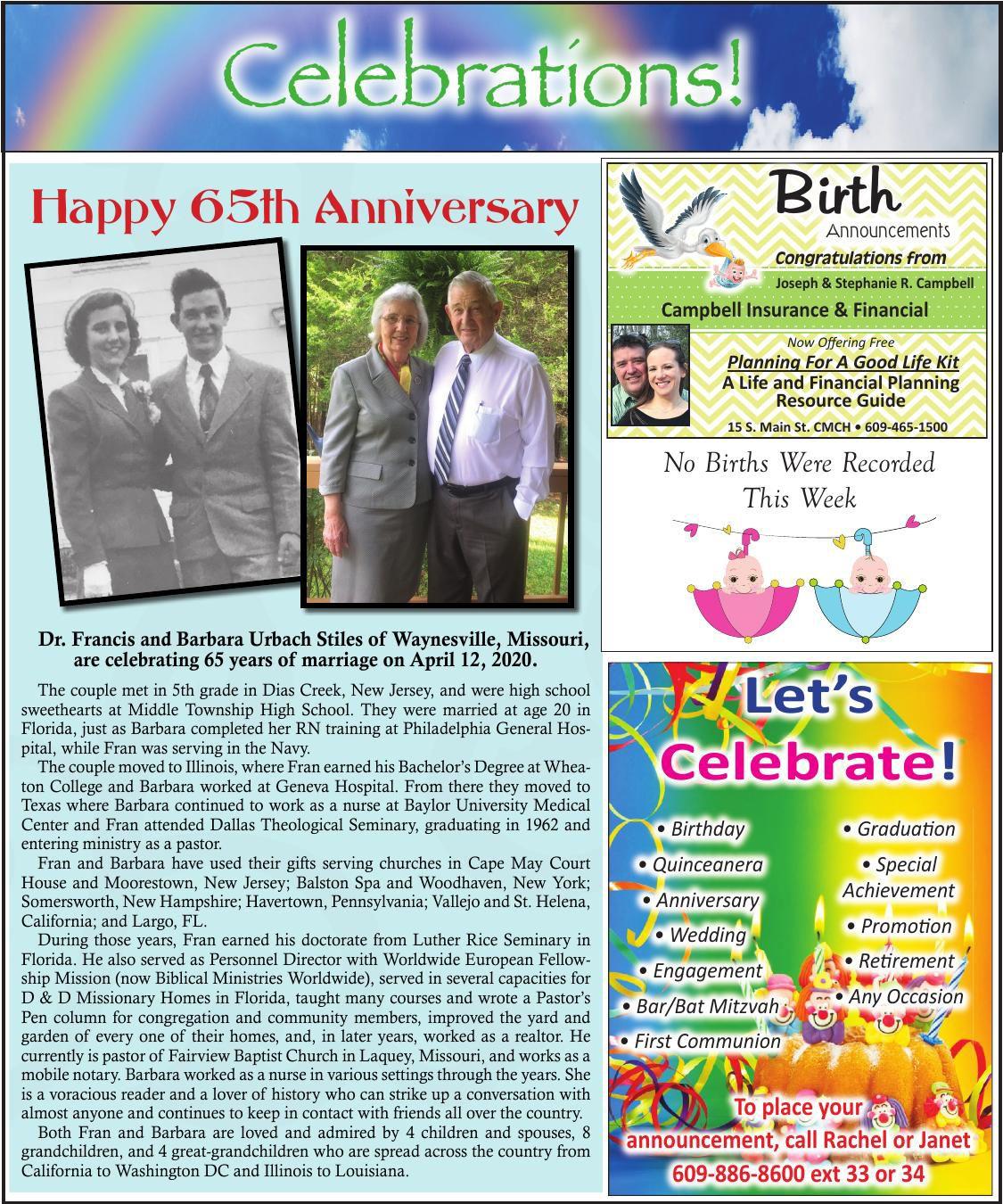 Celebrations for 04-08-2020