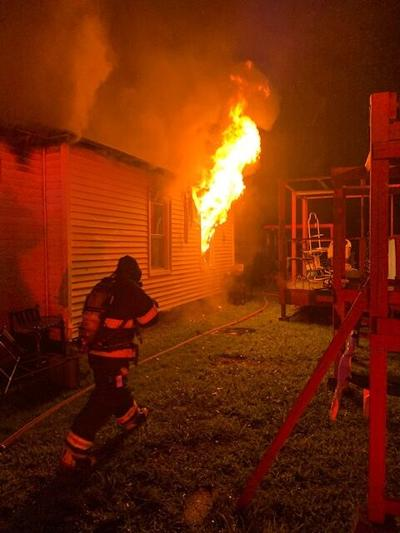 Early-morning Fire Rips Through Wildwood Home