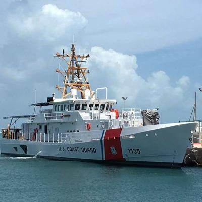 CG Takes Delivery of 3rd Fast Response Cutter; Home port to Be Cape May