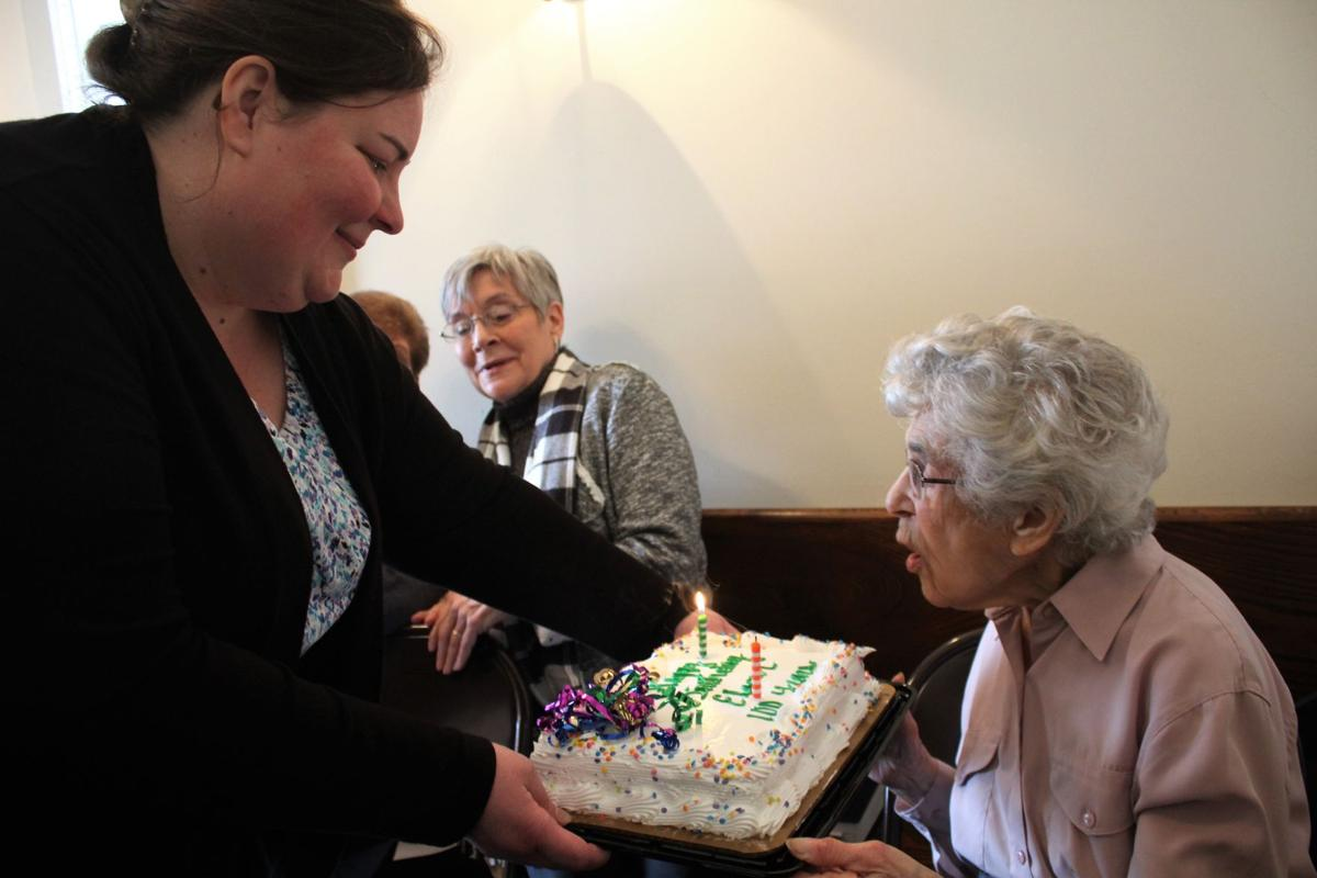 'Keep Breathing,' Centenarian Urges