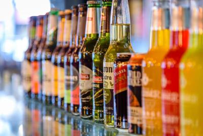 Alcohol Bottles - USE THIS ONE