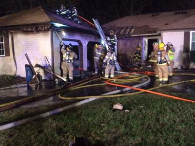 Fire-Damaged Home on Robin Drive in South Dennis