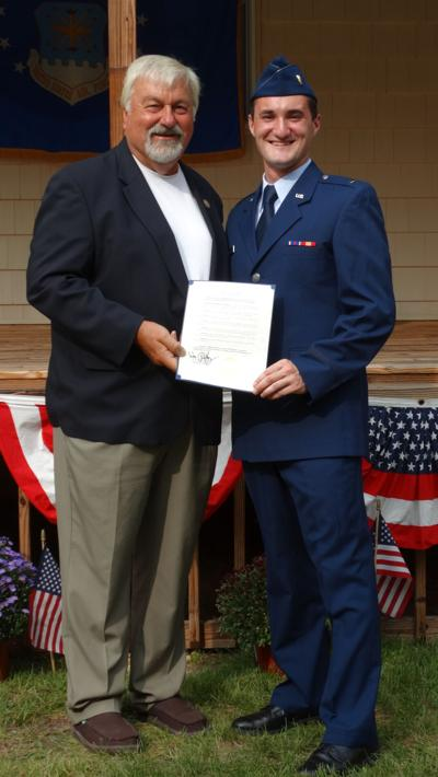 Woodbine Resident Commissioned into Air Force