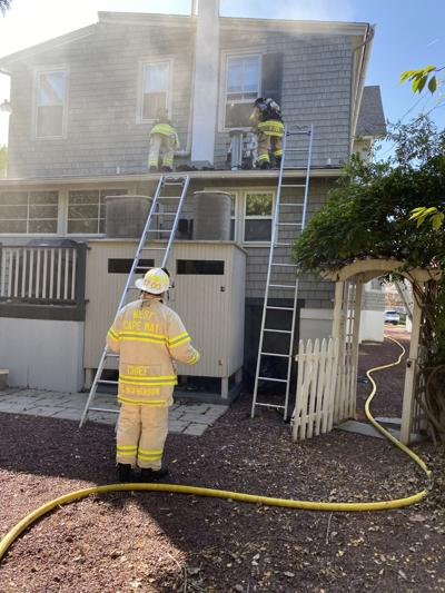 Fire Departments Battle Weekend Blaze in Cape May