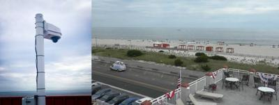 The Montreal Beach Resort Rooftop is Home to New CBS-3 Live Weather Video Camera