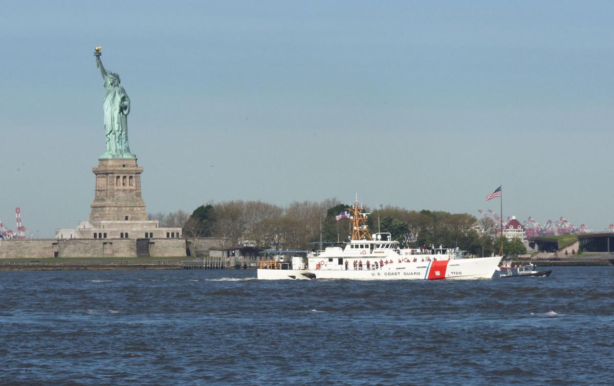 Coast Guard Joins Fleet Week New York 2019