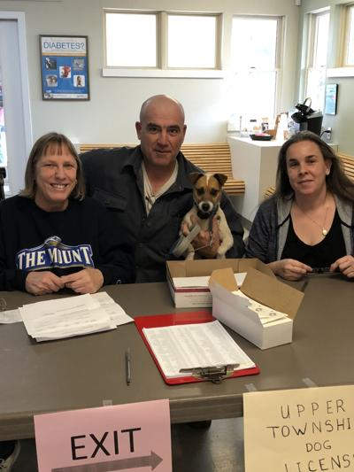 Upper Township Clerks office employees