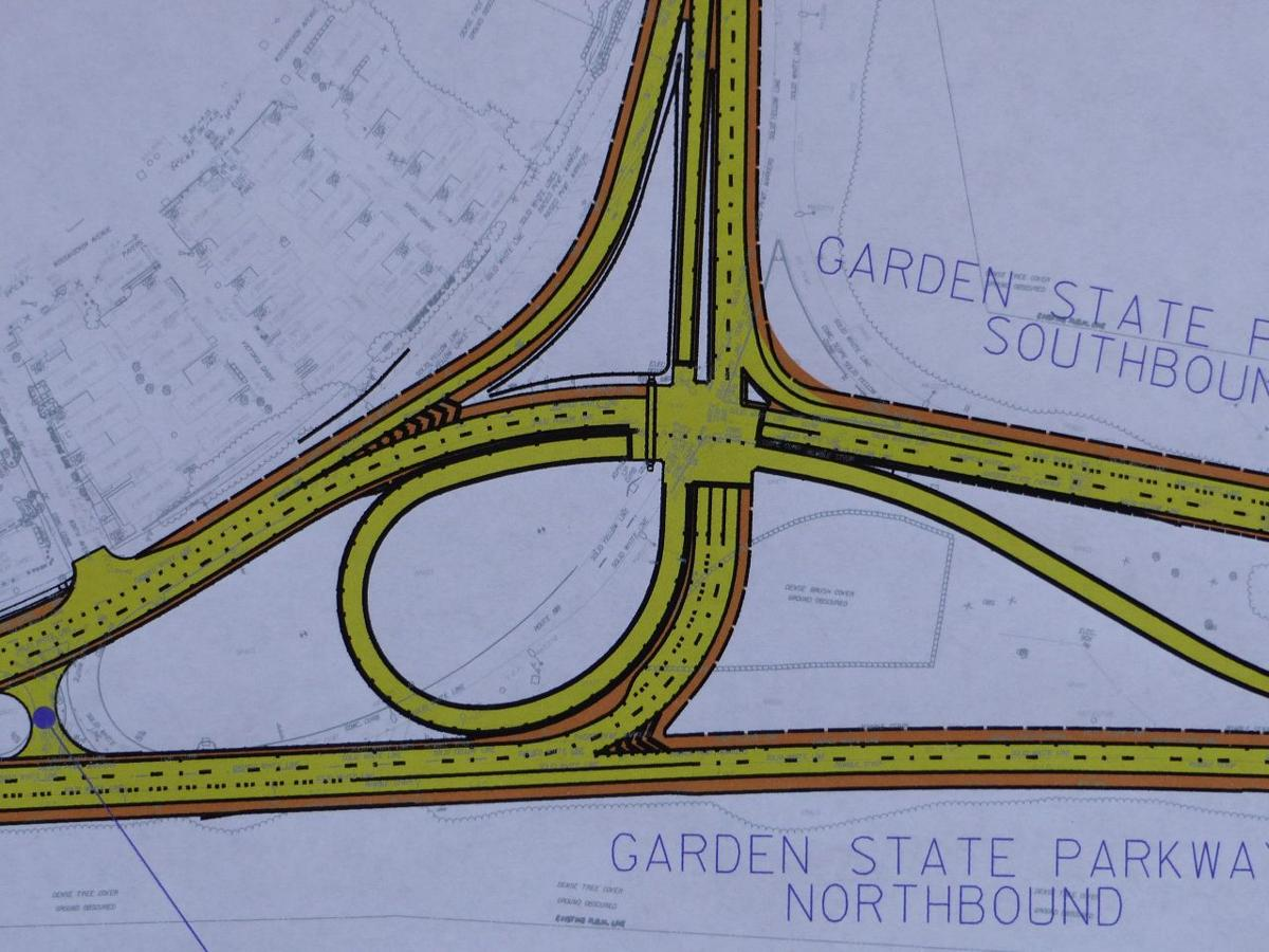 garden state parkway project update traffic