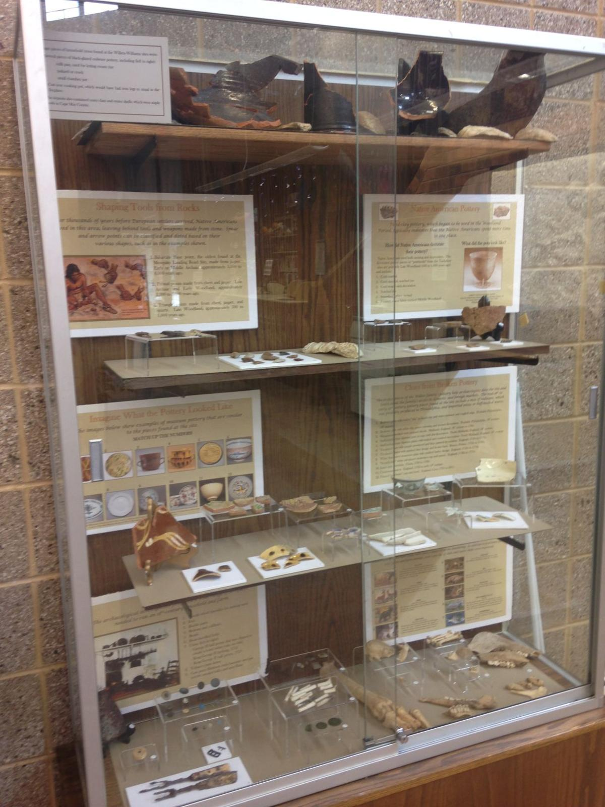 Native American Artifacts Found