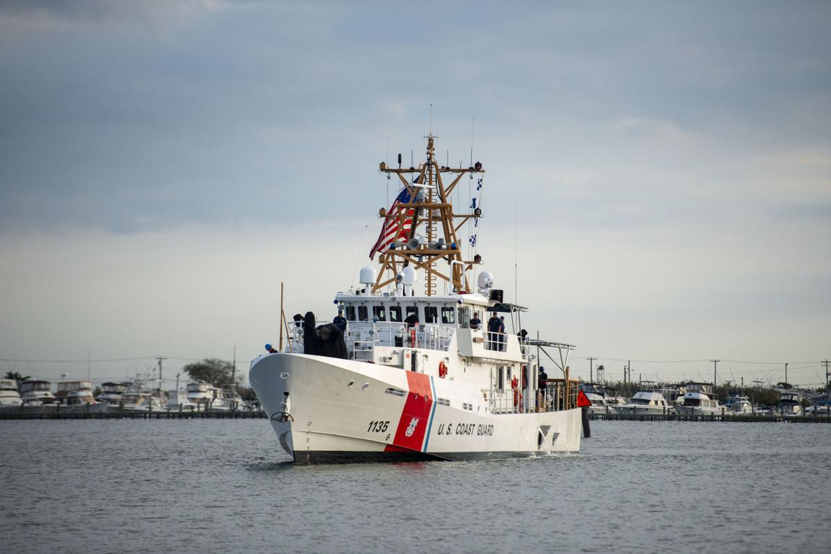 New Coast Guard Cutter, Crew Arrive at Cape May Homeport