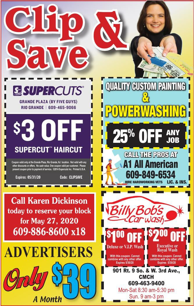 Clip N Save for 04-29-2020