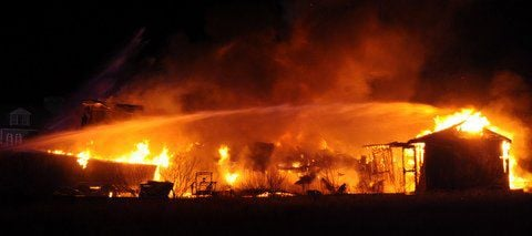 Fire Heavily Damages Reed's Beach Home