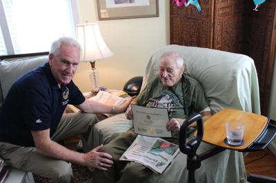 World War II Vet, 100, Honored by County