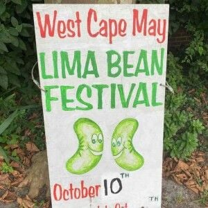 Attend the West Cape May Lima Bean Festival on Oct. 10