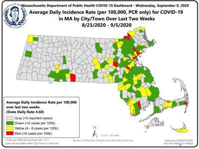 DPH COVID Map
