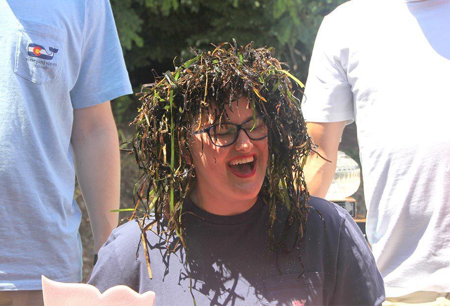 Curling Seaweed Crown