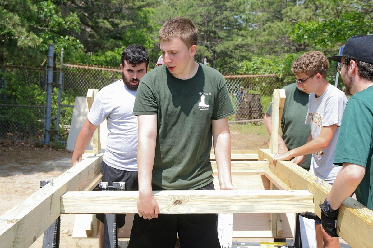Eagle Scout Project At South Cape Beach