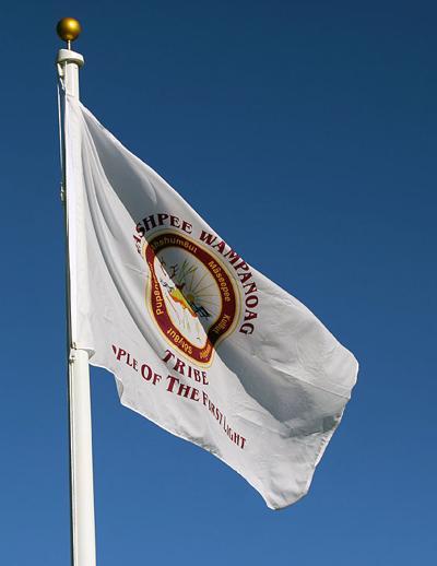 Wampanoag Flag