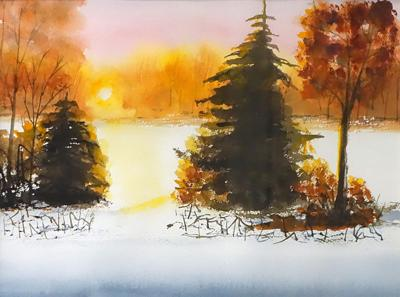 FAC First Snow by Corinne Lilie