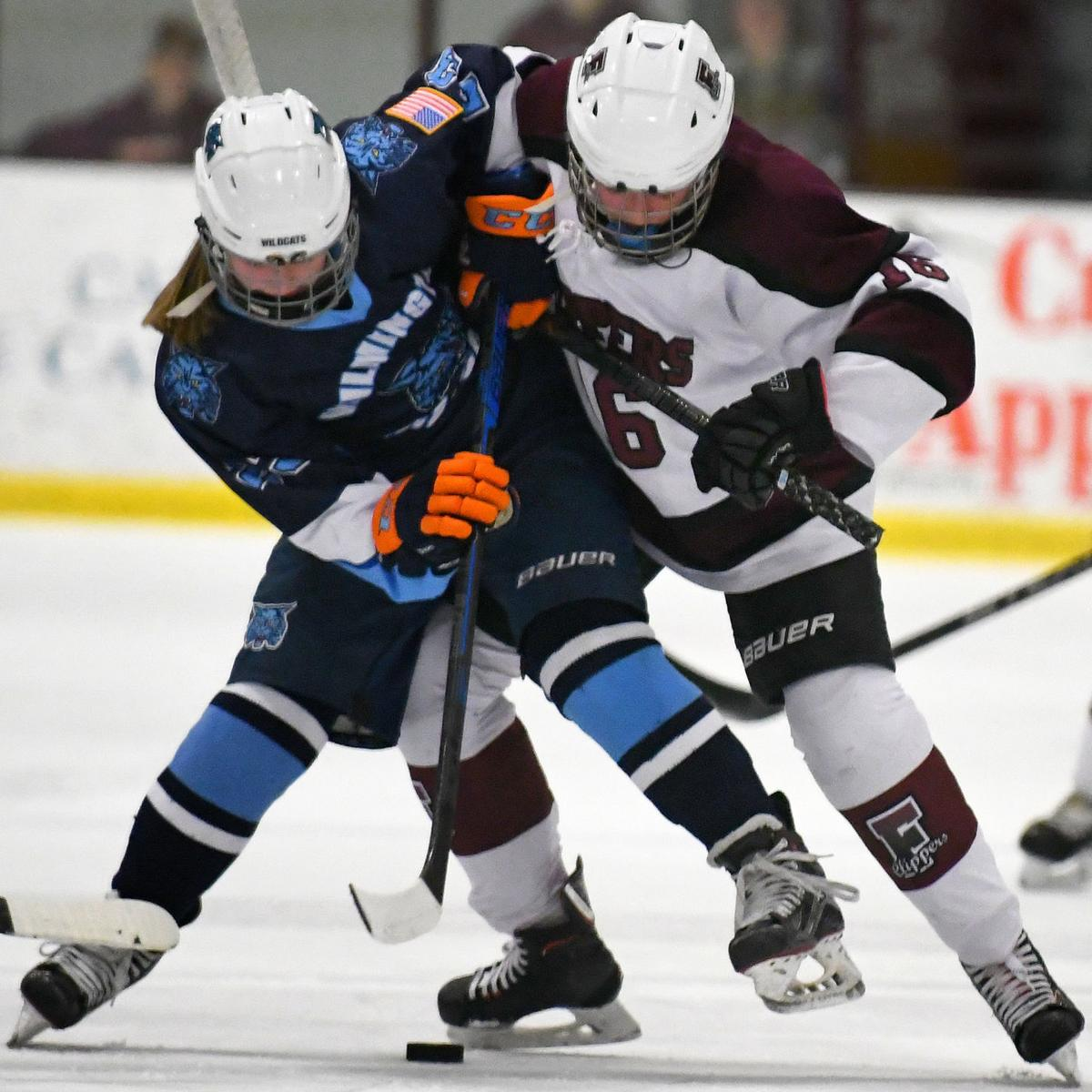 Falmouth Girls Hockey Sets Up Showdown With Knights