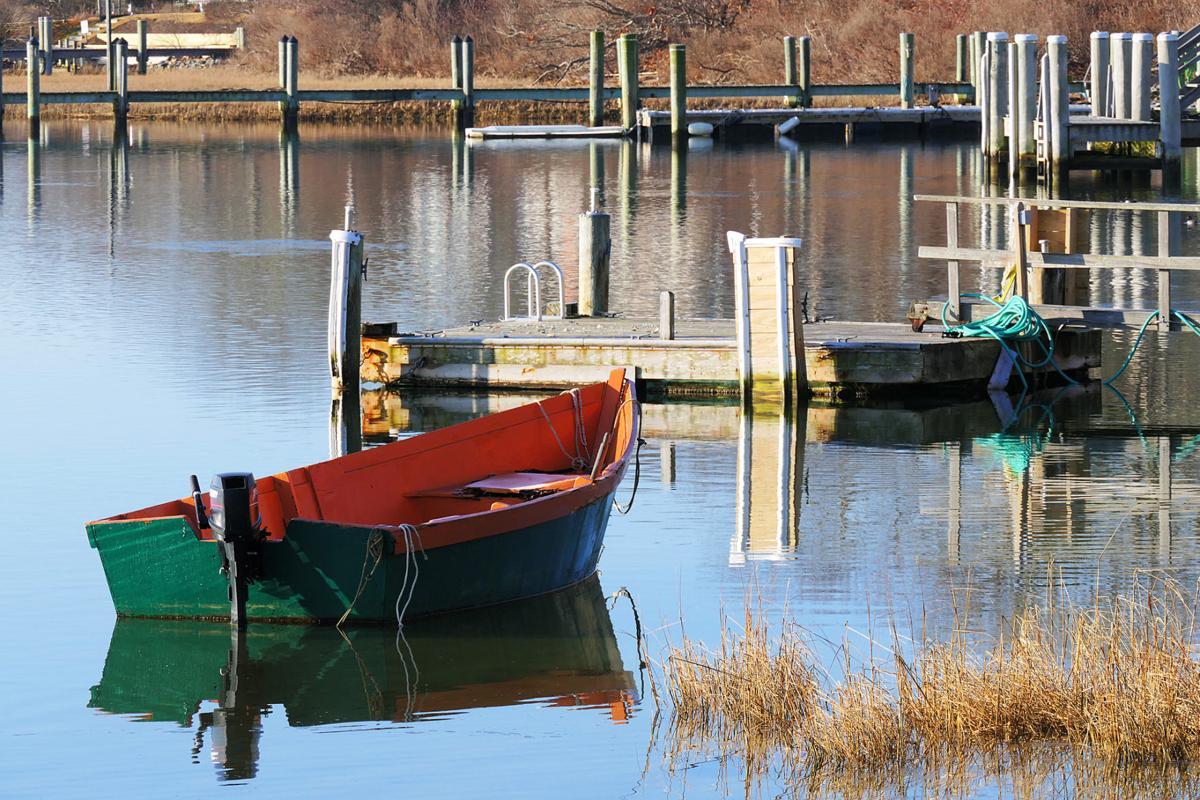 Boat In Green Pond