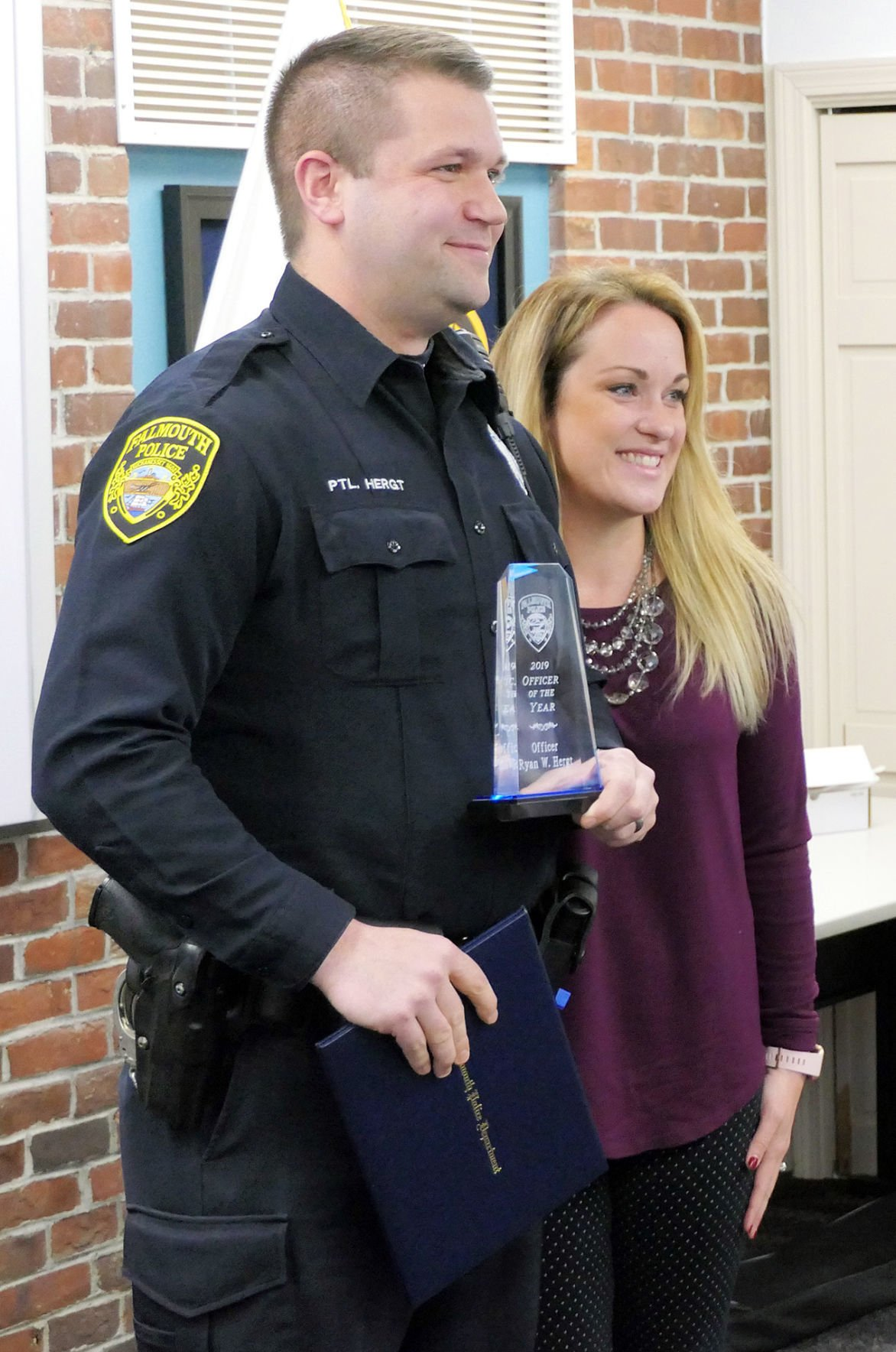 Falmouth Police Department Awards - February 26, 2020